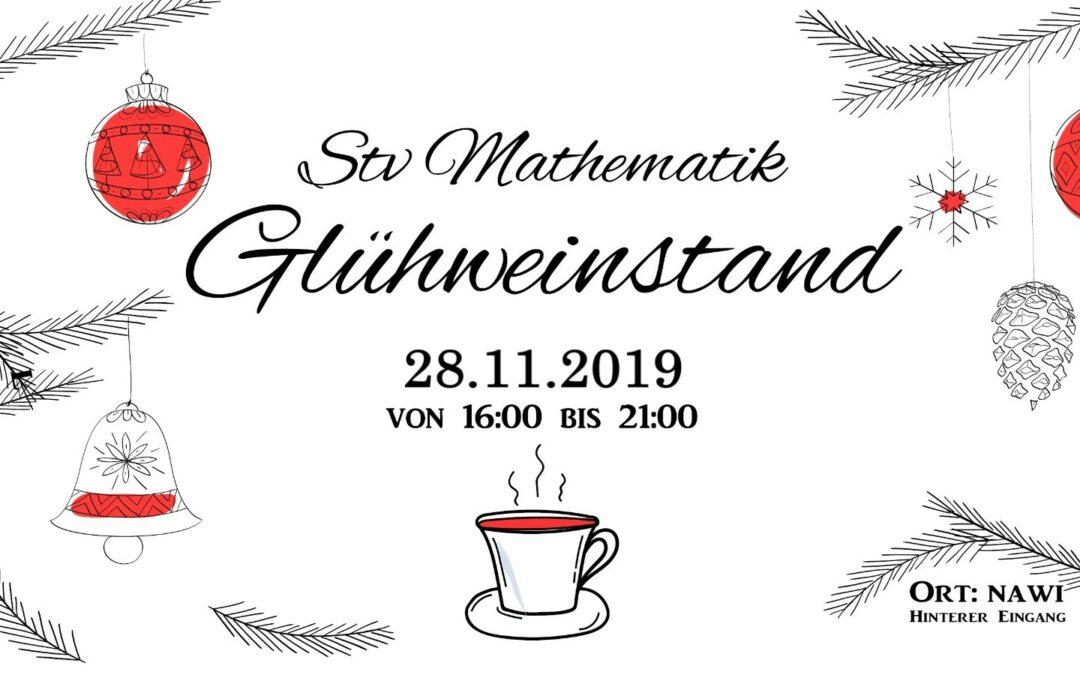 Mathe-Glühweinstand 28.11.2019